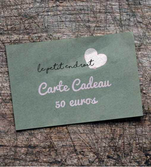 Carte Cadeau 50€ Le Petit Endroit - 1