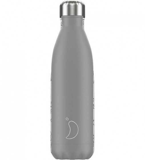 Bouteille Monochrome Gris - 750ml Chilly'S Bottle - 1