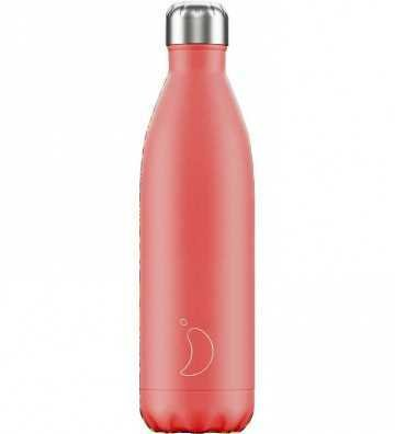Bouteille Pastel Corail - 750ml Chilly'S Bottle - 1