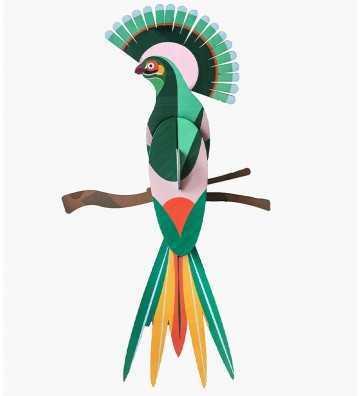 Oiseau du Paradis Gili - Décoration Murale Studio Roof - 1