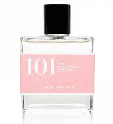 Eau de parfum 101 : rose / pois de senteur / cèdre blanc Bon Parfumeur - 1