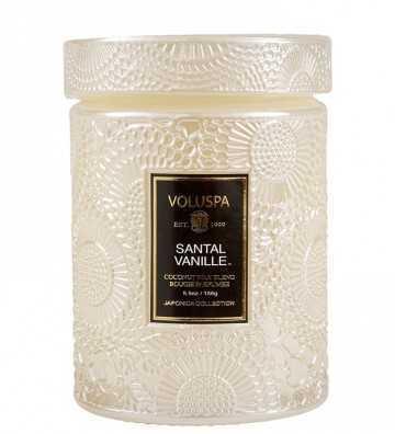 Santal Vanille - Moyenne Bougie Voluspa - 1
