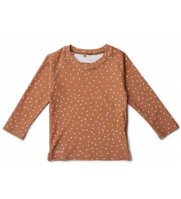 Tee shirt Anti Uv Confetti Terracotta Liewood - 1