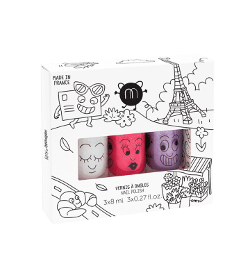 Coffret 3 vernis City Nailmatic - 1