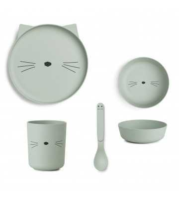 Bamboo set Chat Menthe Liewood - 1
