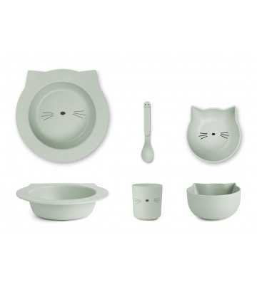 Bamboo set Baby Chat Menthe Liewood - 1
