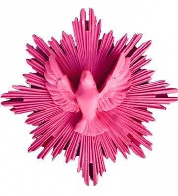 Ex-Voto Colombe Pink J'ai vu la vierge - 1