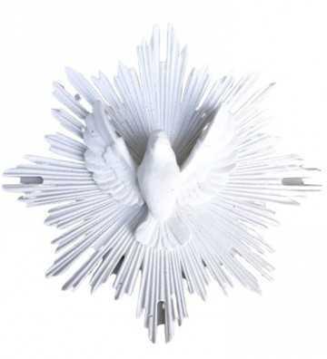 Ex-Voto Colombe Blanc J'ai vu la vierge - 1