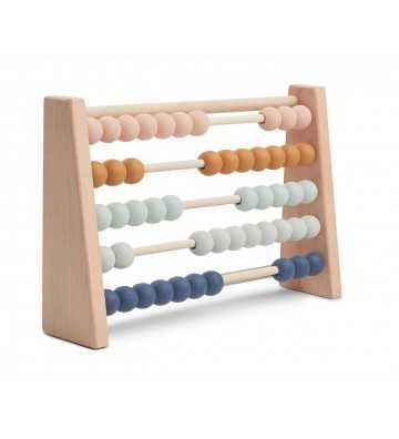 Boulier Abacus Multicolore Liewood - 1