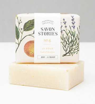 Le Doux - Savon Bio Savon Stories - 1