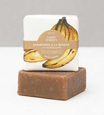 Shampoing Solide à la Banane Savon Stories - 1