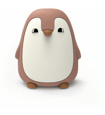 Veilleuse Pingouin Dark Rose Liewood - 1