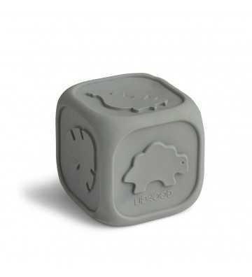 Cube en forme de dés silicone Bleu Liewood - 1