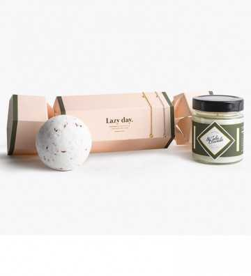 Coffret Lazy Day avec Bracelet Or My Jolie Candle - 1