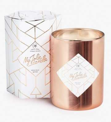 Rose Gold Edition - Bougie-Bijou avec Bracelet My Jolie Candle - 1