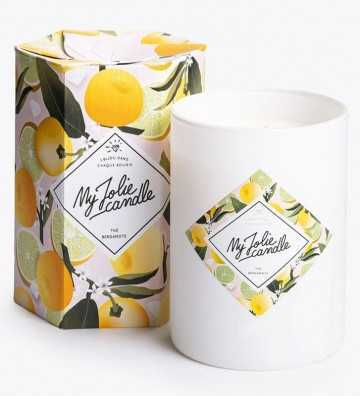 Thé Bergamotte - Bougie-Bijou avec Collier Or My Jolie Candle - 1