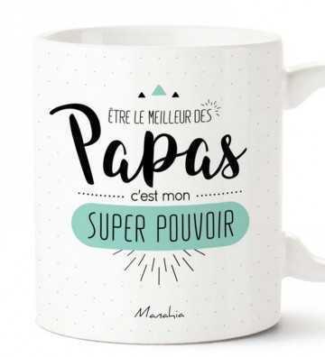 Être le Meilleur des Papas - Mug
