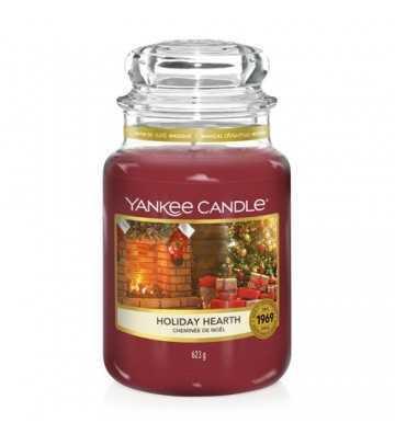 Cheminée de Noël - Grande Jarre Yankee Candle - 1