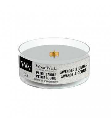 Lavande et Cèdre - Petite Candle Wood Wick - 1