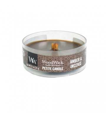 Ambre & Encens - Petite Candle Wood Wick - 1