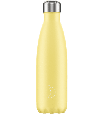 Bouteille Pastel Jaune - 500ml Chilly'S Bottle - 1