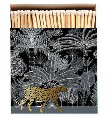 Boîte d'Allumettes Cheetah Noire Archivist - 1