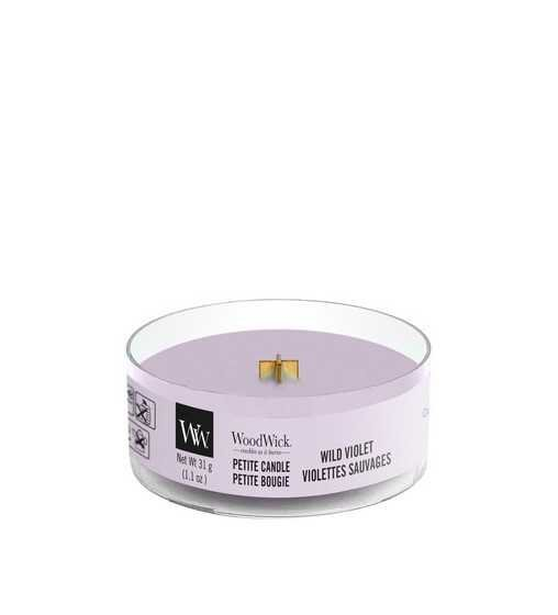 Violettes Sauvages - Petite Candle Wood Wick - 1