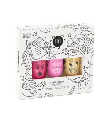 Coffret 3 vernis Magic Forest Nailmatic - 1