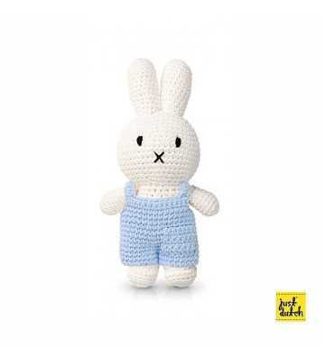 Peluche Miffy Salopette Bleu Just Dutch - 1