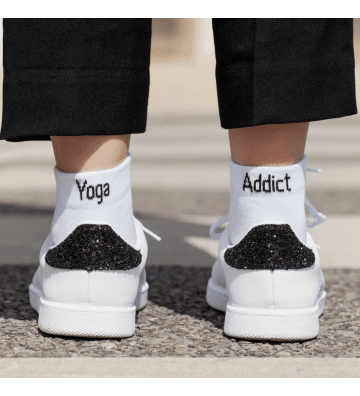 Chaussettes Yoga Addict Sorry or not Sorry - 1
