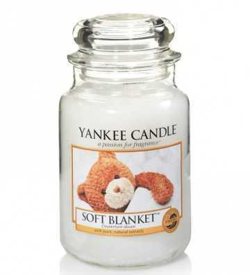 Couverture douce - Grande Jarre Yankee Candle - 1