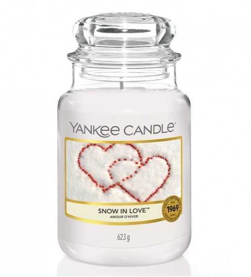 Amour d'Hiver - Grande Jarre Yankee Candle - 1