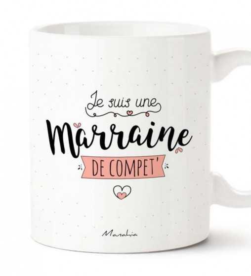 Marraine de Compet' - Mug Manahia - 1
