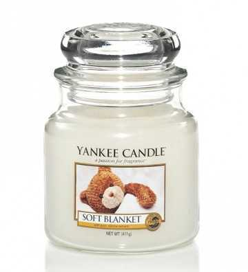 Couverture douce - Moyenne Jarre Yankee Candle - 1
