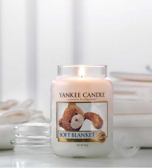 Couverture douce - Grande Jarre Yankee Candle - 2
