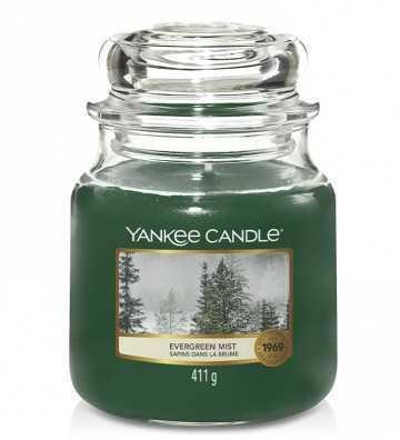 Sapins dans la Brûme - Moyenne Jarre Yankee Candle - 1
