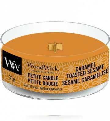Sésame Caramélisé - Petite Candle Wood Wick - 1