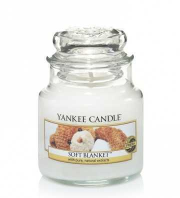 Couverture douce - Petite Jarre Yankee Candle - 1
