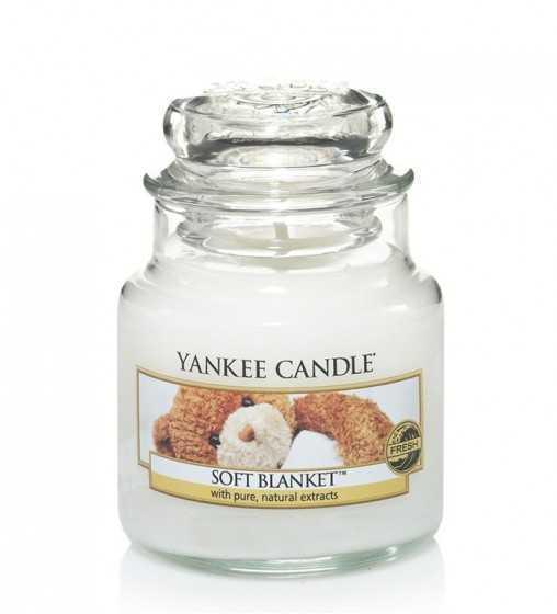 Couverture douce - Petite Jarre Yankee Candle - 1