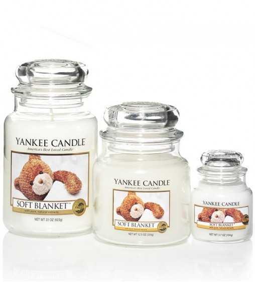 Couverture douce - Petite Jarre Yankee Candle - 2