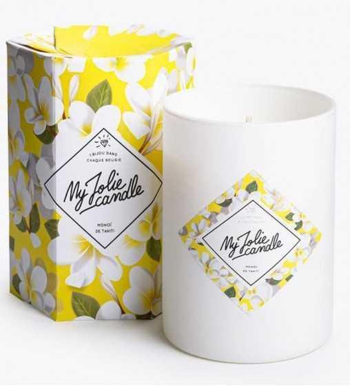 Monoï - Bougie-Bijou avec Bracelet Or My Jolie Candle - 1