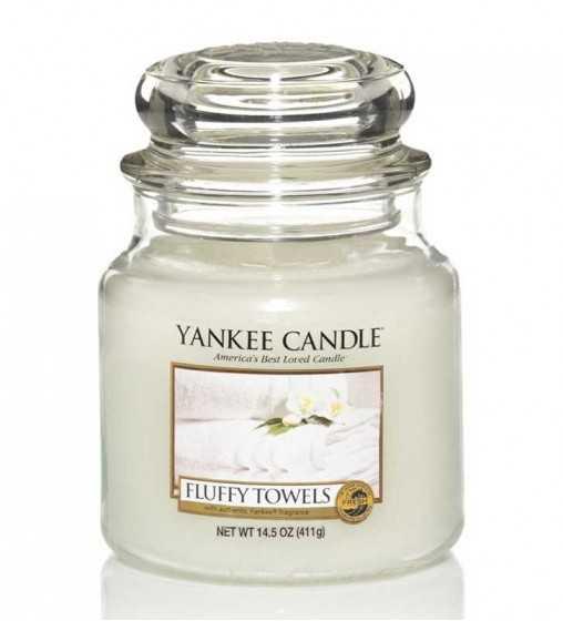 Serviettes Moelleuses - Moyenne Jarre Yankee Candle - 1