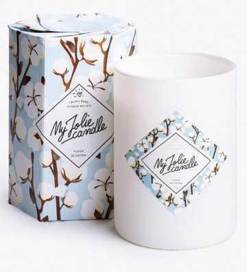Fleur de Coton - Bougie-Bijou avec Bracelet Argent My Jolie Candle - 1