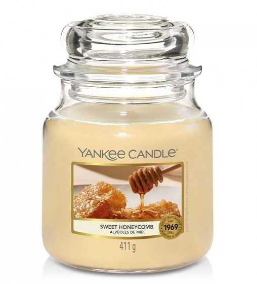 Alvéoles de Miel - Moyenne Jarre Yankee Candle - 1