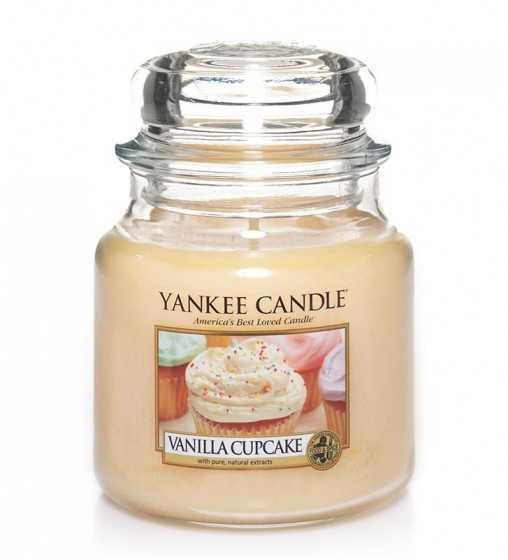 Gâteau à la vanille - Moyenne Jarre Yankee Candle - 1