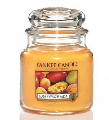 Mangue et Pêche - Moyenne Jarre Yankee Candle - 1