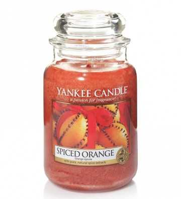 Orange Épicée - Grande Jarre Yankee Candle - 1