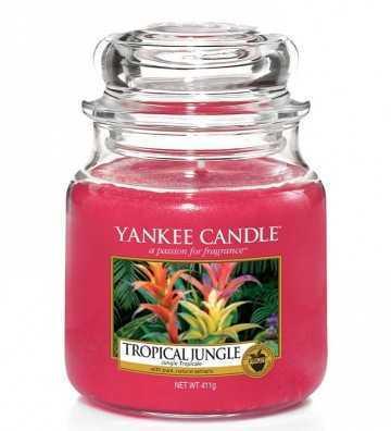 Jungle Tropicale - Moyenne Jarre Yankee Candle - 1