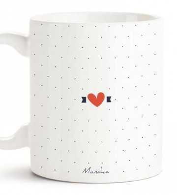 Je t'aime d'Amour - Mug Manahia - 2