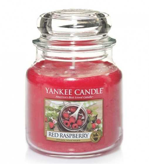 Framboise Rouge - Moyenne Jarre Yankee Candle - 1
